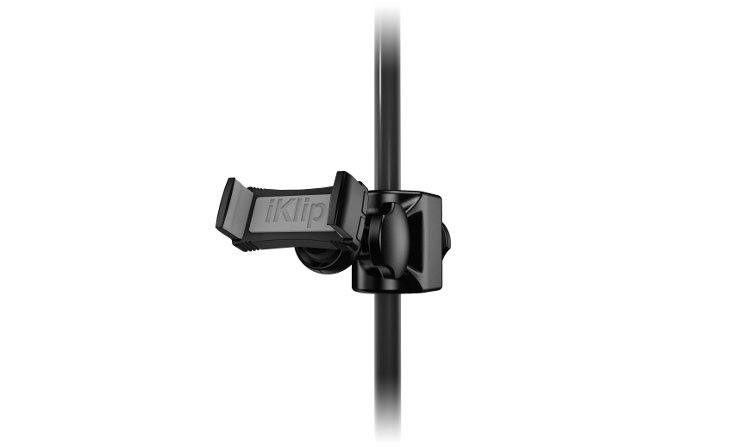 IK Multimedia iKlip Xpand Mini Universal Microphone Stand Mount for Smartphones IKLIP-XPAND-MINI