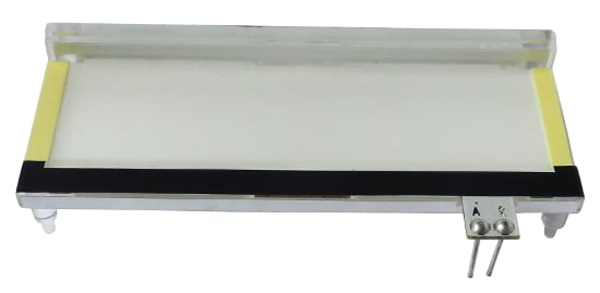 Short Backlight LCD Label for VI6