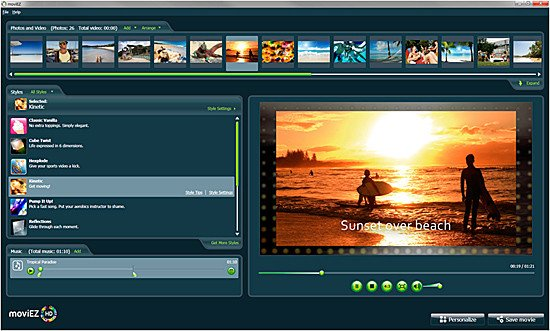 Home Movie Production Software