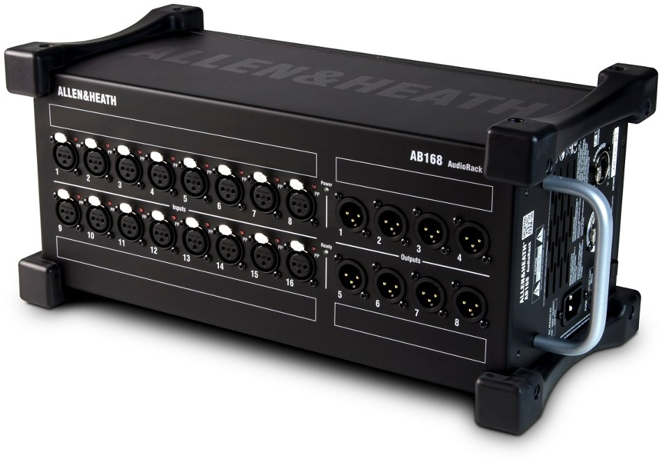 16 In/8 Out Portable AudioRack with 16 Microphone Preamps
