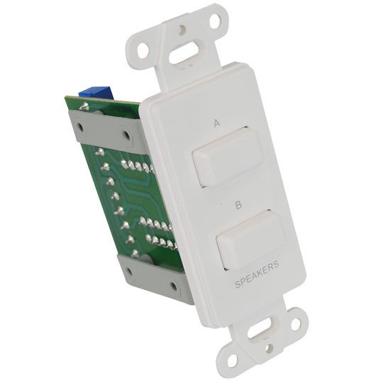 In-Wall A/B Source Selector Switch