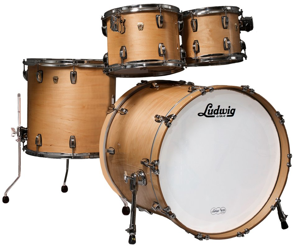 Classic Maple Mod 22 4 Piece Shell Pack in Natural Maple Finish