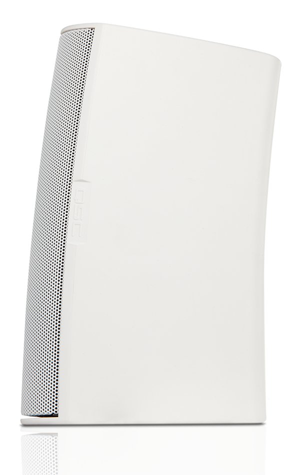 "AcousticDesign 6.5"" 2-Way Surface Mount Speaker in White"