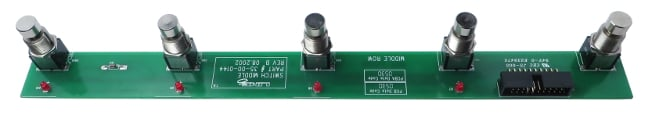 Middle Switch PCB for FBV Shortboard