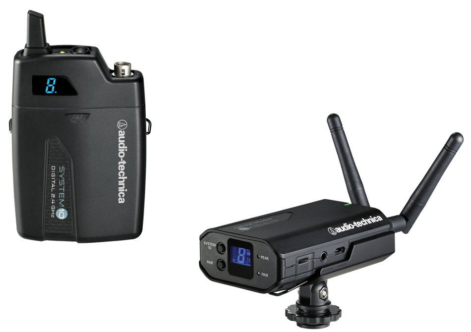 System 10 Portable Camera-Mount Digital Wireless Bodypack System without Microphone