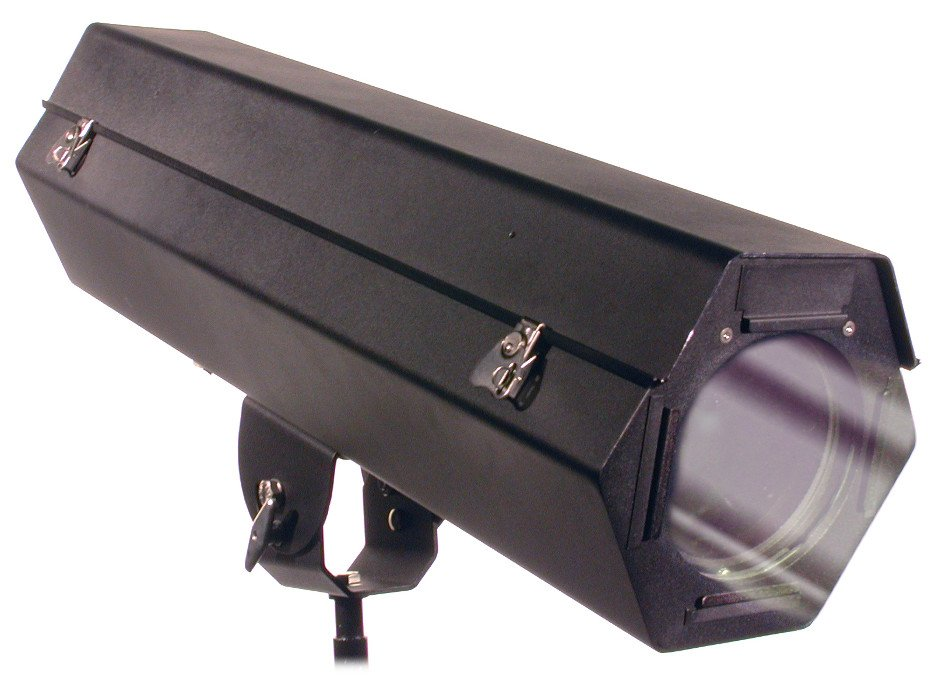 150W Architectural ODEC Outdoor Series Ellipsoidal in Black