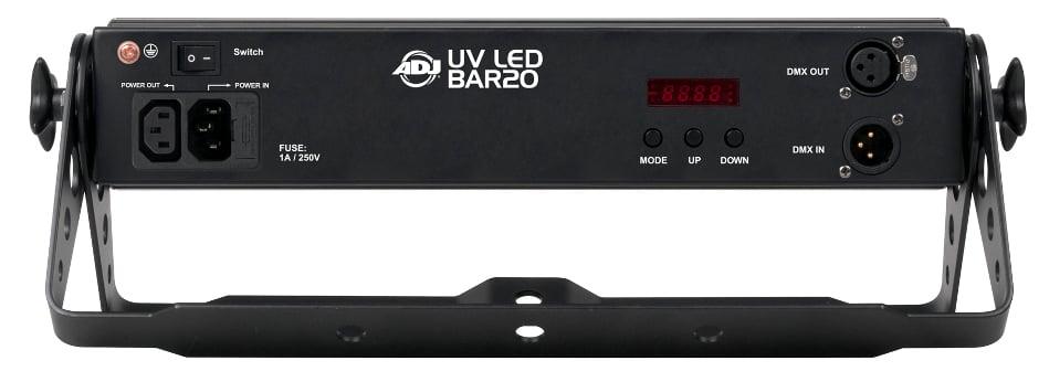 Ultraviolet LED Blacklight Strip Fixture
