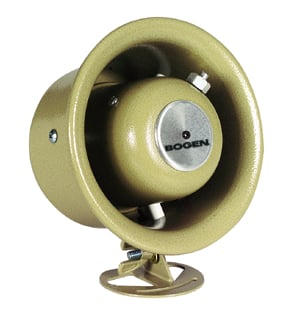 Bogen Communications HS7EZ 7.5 Watt 70V Horn with Volume Control HS7EZ