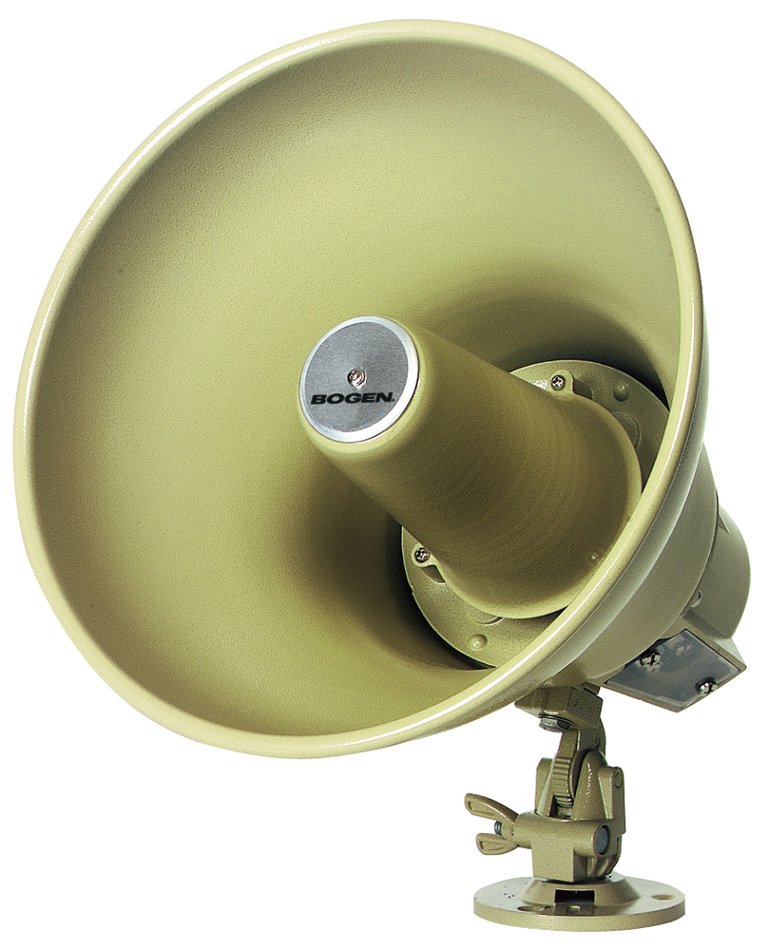 30W Re-Entrant Paging Horn with 25/70V Transformer