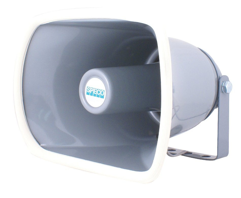 "Speco Technologies SPC15R 8"" Aluminum Weatherproof 8 Ohm Speaker Horn SPC15R"