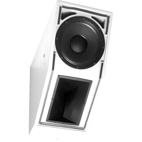 "15"" 2-Way Full-Range Installation Loudspeaker in White"