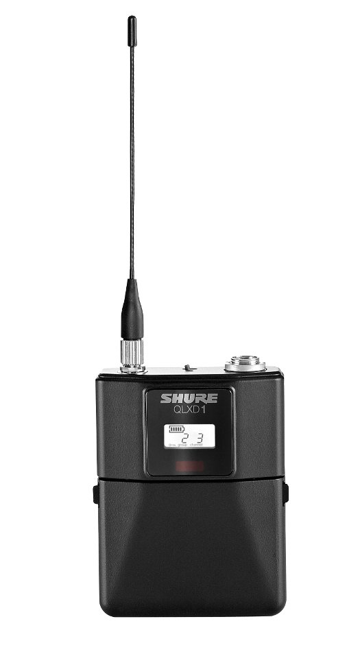 Digital Wireless Bodypack System with Shure WA305 Instrument Cable