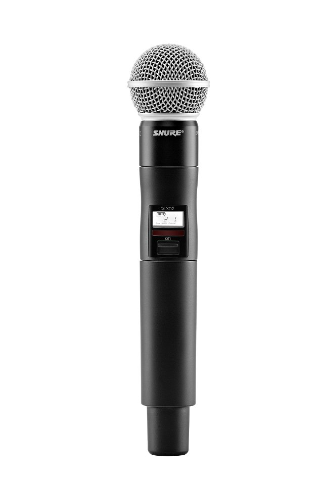 shure qlxd24 sm58 digital wireless handheld microphone system with sm58 cartridge full compass. Black Bedroom Furniture Sets. Home Design Ideas