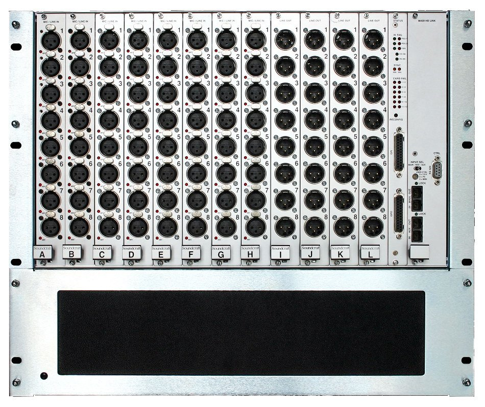 64 x 32 Vi Series Stagebox with Optical Configuration