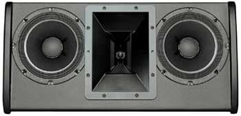 "Dual 8"" Two-Way Full-Range Installation Loudspeaker in White"