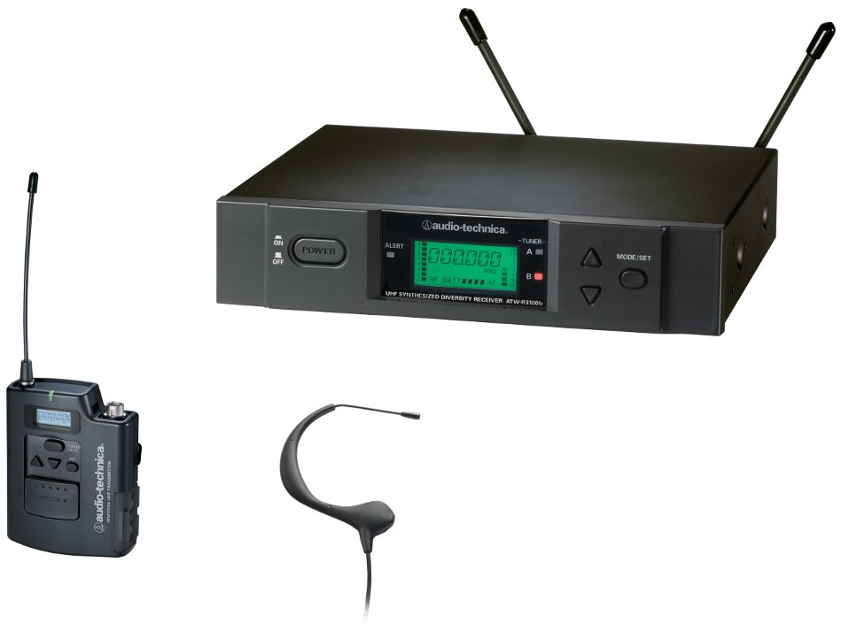 3000 Series UHF Wireless Headset Microphone System - I Band
