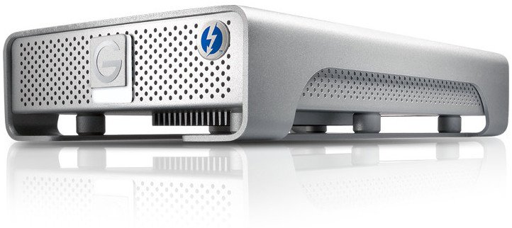 4TB G|DRIVE External Hard Drive with Thunderbolt / USB 3.0, 7200 RPM