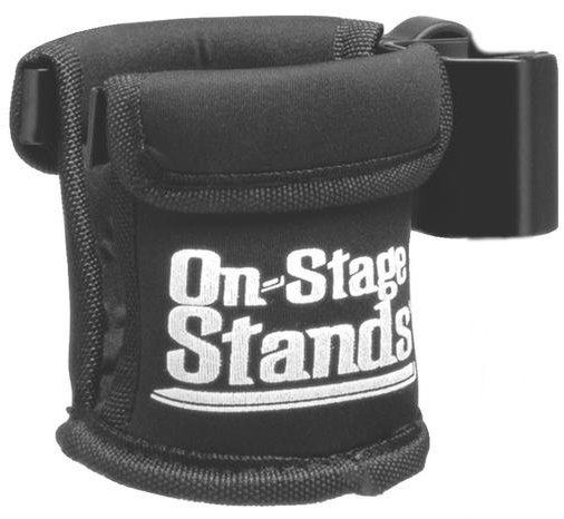 Clamp-On Drink Holder for Microphone or Drum / Cymbal Stands