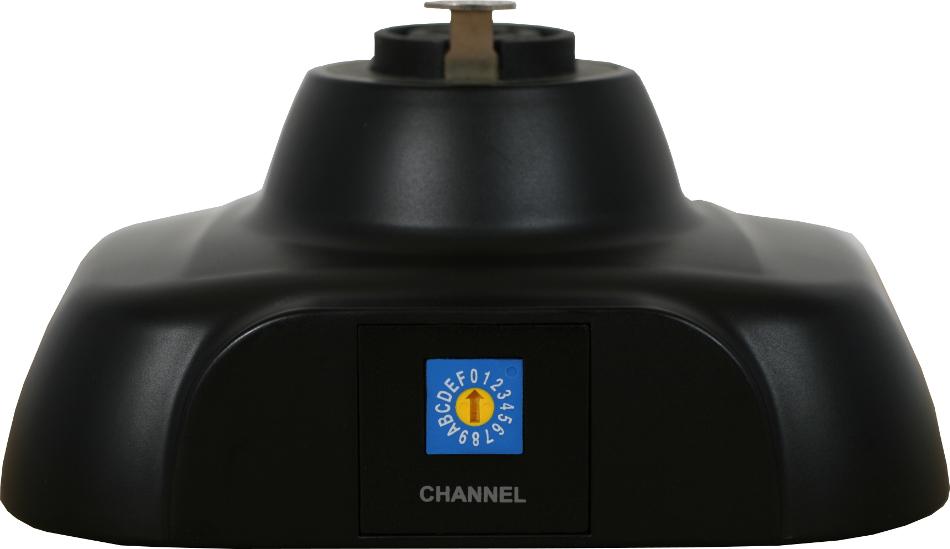 Wireless Shockmount Transmitter Base for Galaxy Wireless Systems