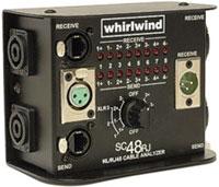 Cable Polarity Checker, NL4/ NL8 / RJ45 / XLR
