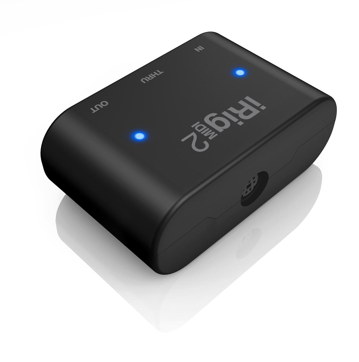 IK Multimedia IRIG-MIDI-2 Lightning/USB MIDI interface for iPhone, iPad and Mac/PC IRIG-MIDI-2