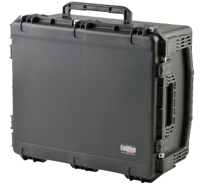 iSeries Waterproof Utility Case with Cubed Foam and Wheels