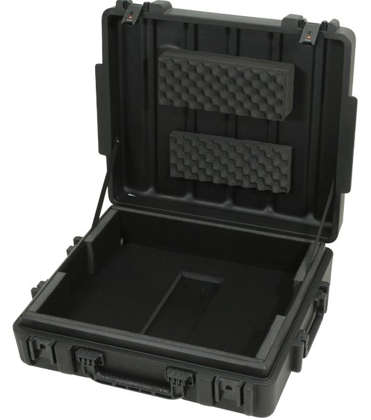SKB Cases 1R2723-8BW  Roto-Molded Mixer Case with Pull-Out Handle and Wheels 1R2723-8BW