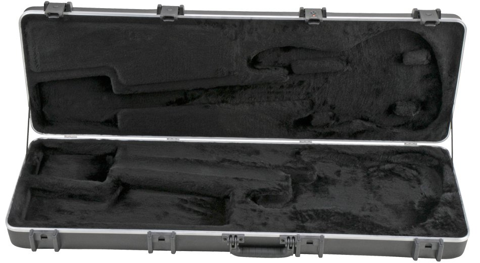 Rectangular Hardshell Electric Bass Case for P/J Style Basses