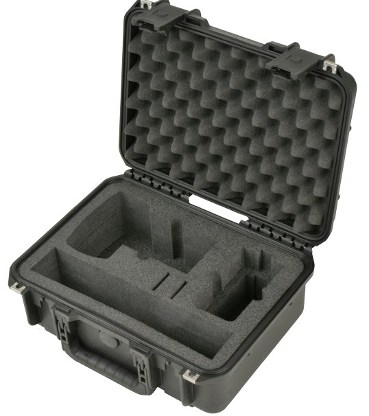 iSeries Combo Hard Case for DSLR, Shotgun Microphone and H6/H4n Recorders