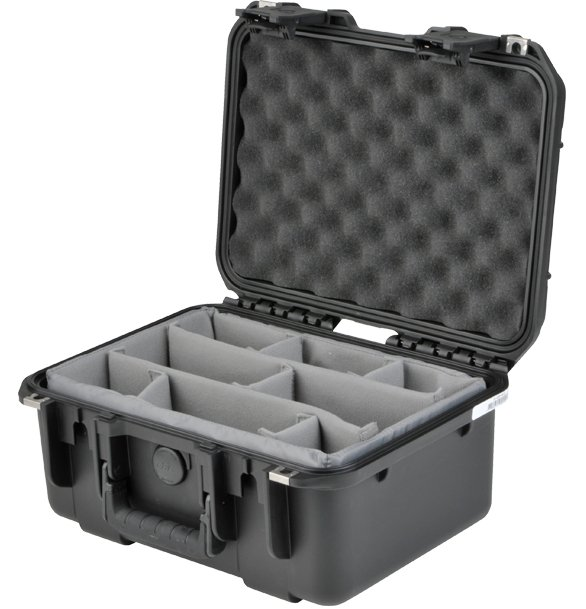 iSeries Small Waterproof Utility Case with Dividers