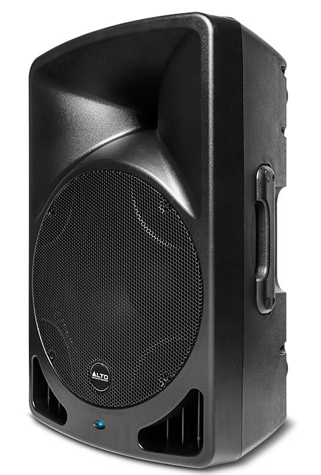 alto tx15 15 2 way active speaker 300w black full compass systems. Black Bedroom Furniture Sets. Home Design Ideas