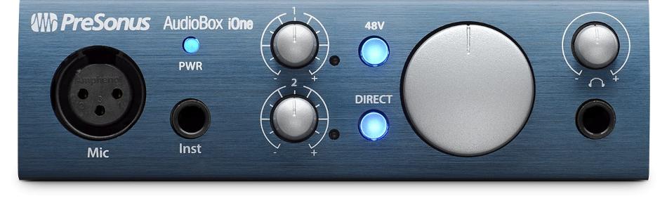 2x2 USB/iPad Recording Interface