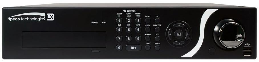20 Channel LX Hybrid Digital Video Recorder with 2TB HDD