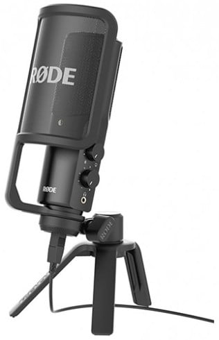 USB Plug & Play Condenser Microphone