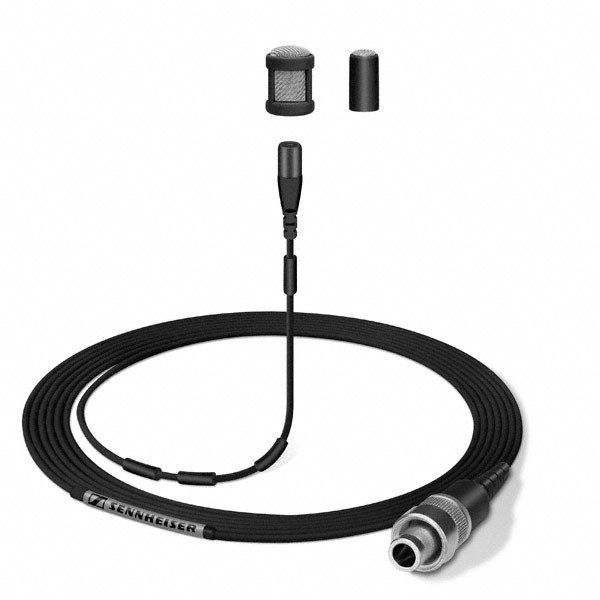 Sennheiser MKE1-5  Omnidirectional Lavalier Microphone with Pigtail Lead in Black MKE1-5
