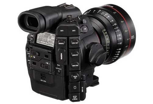 Digital Video Camera Body with Dual Pixel CMOS AF Feature Upgrade
