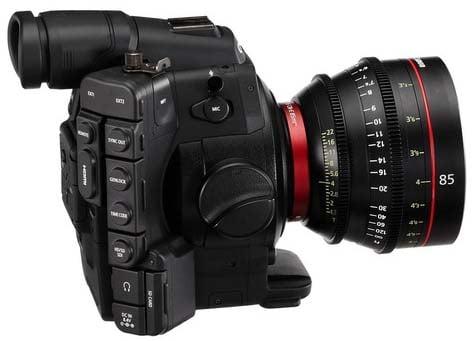 Cinema EOS Camera with EF 24-70mm Lens