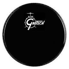 gretsch drums g5526eb 22 gretsch logo ebony resonant bass drum head full compass. Black Bedroom Furniture Sets. Home Design Ideas