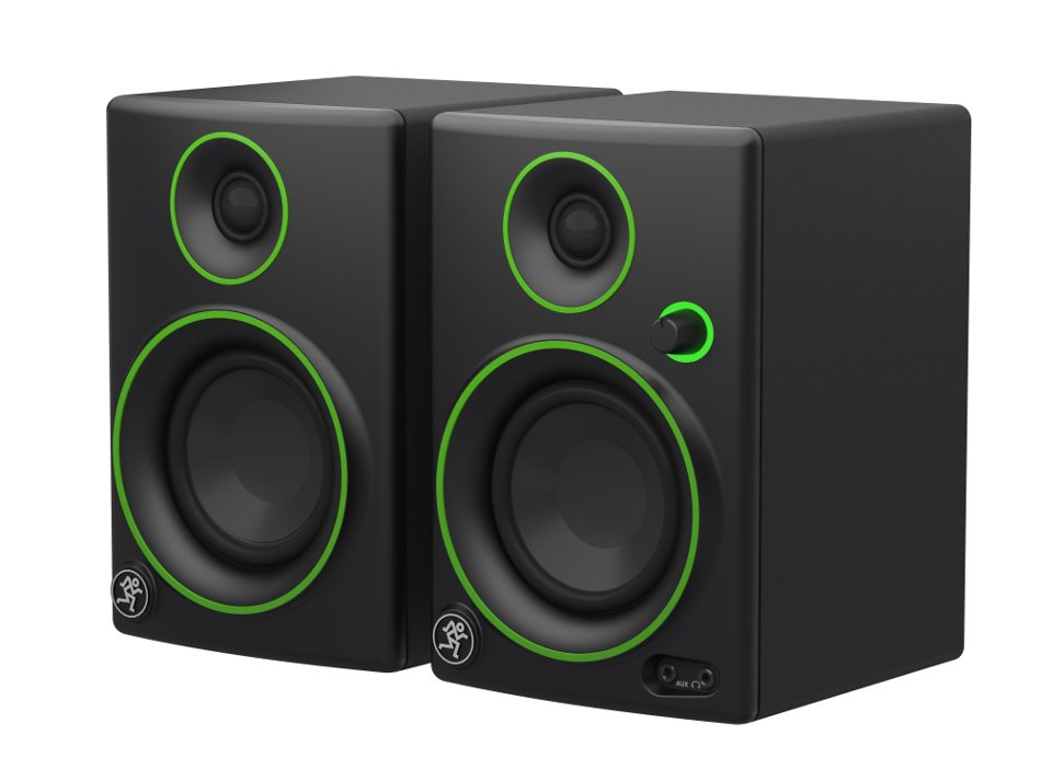 "Pair of 3"" 2-Way 50W Active Multimedia Monitors"
