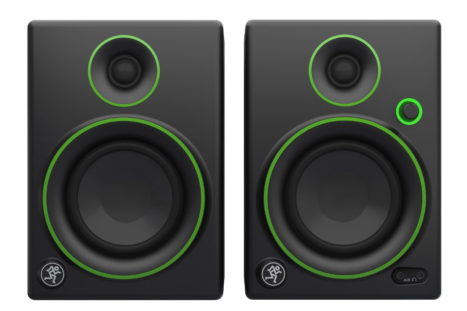 "Pair of 4"" 50W Active Multimedia Monitors"
