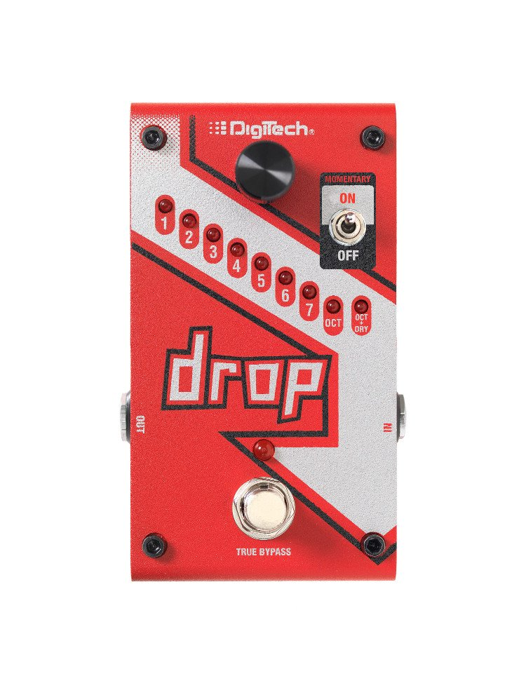 Polyphonic Drop Tune/PitchShift Pedal