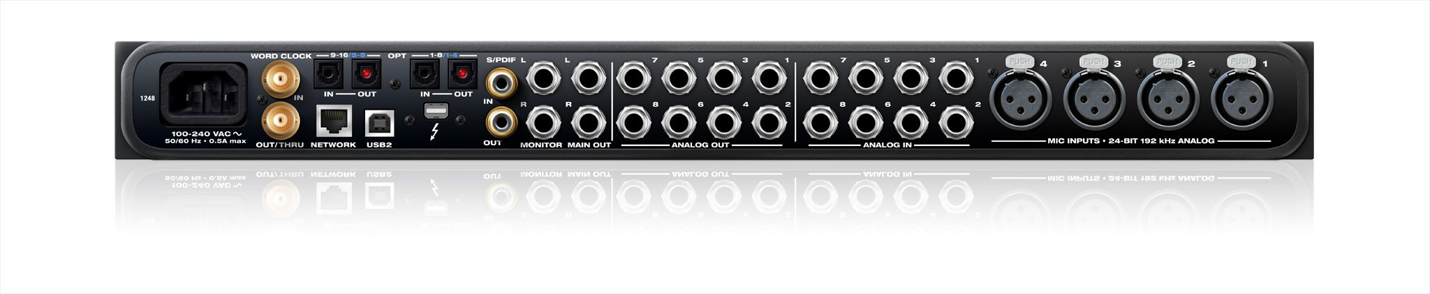 MOTU 1248 48-Channel Thunderbolt Audio Interface with AVB Networking 1248-THUNDERBOLT