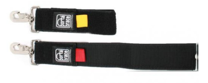 Set of 2 Heavy Duty Piggin' Strings with Velcro Cable Wraps