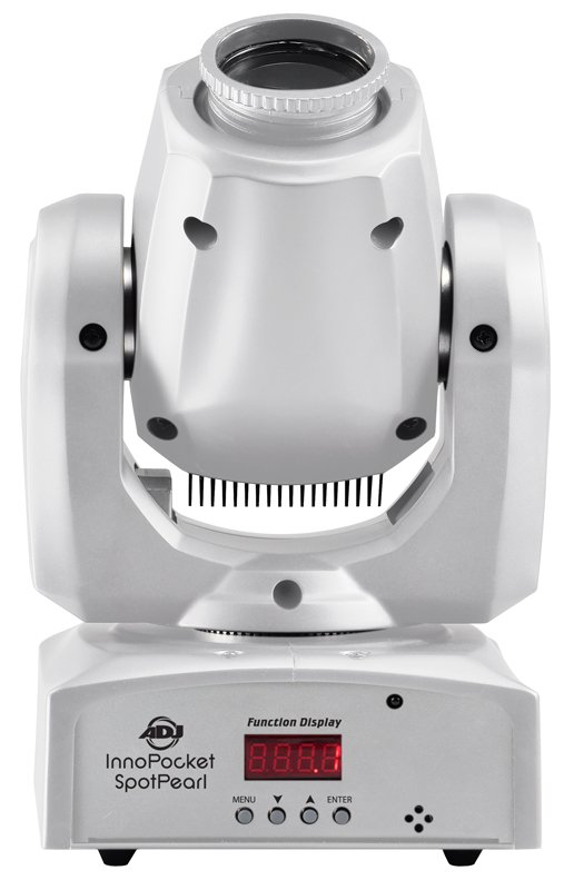 Compact LED Moving Head Fixture in White