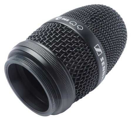 Black Mic Basket with Pop Filter
