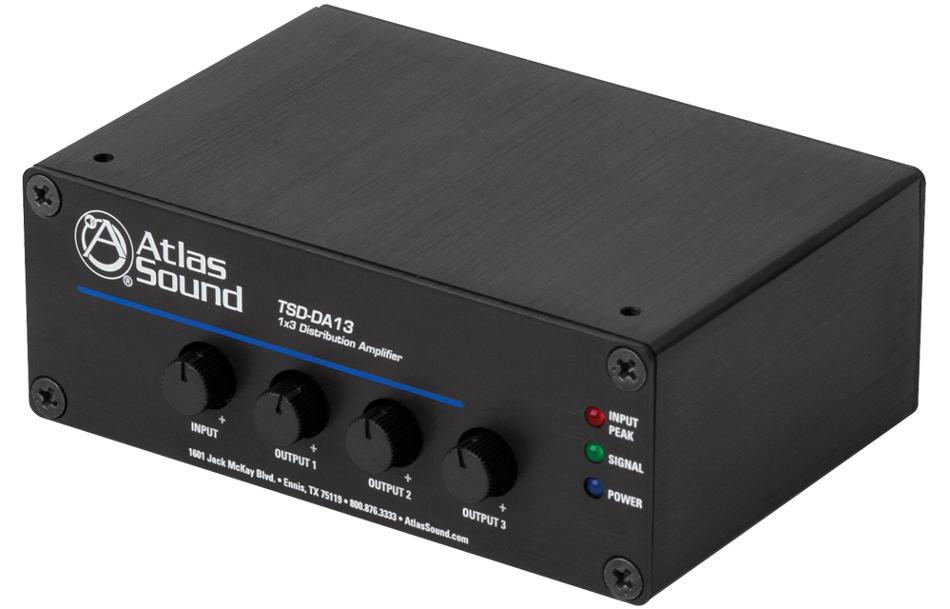 1x3 Audio Distribution Amplifier