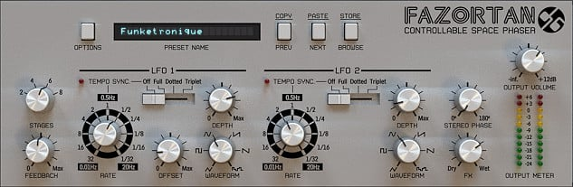 Space Phaser Software Plugin