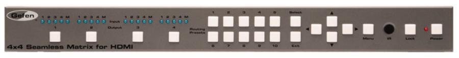 4x4 Seamless Matrix for HDMI