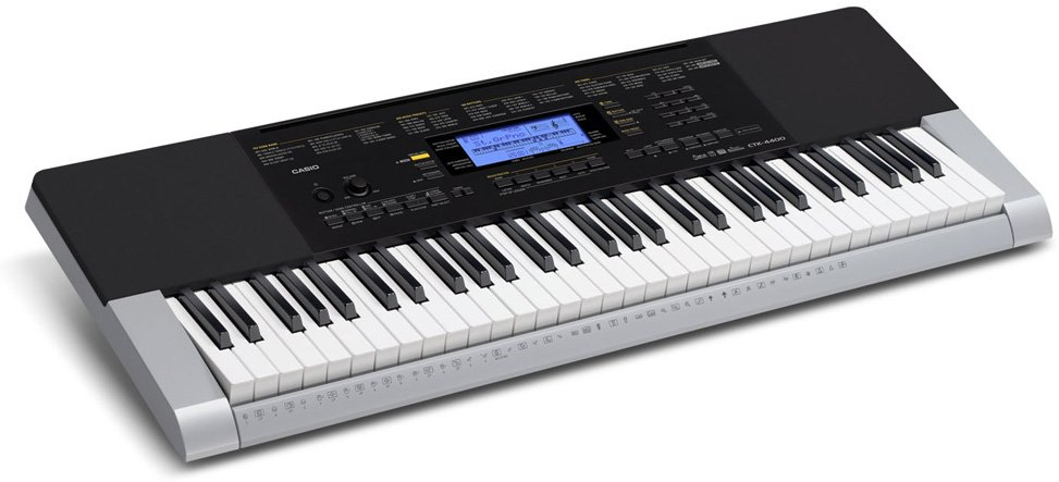61-Key Keyboard with 48-Note Polyphony