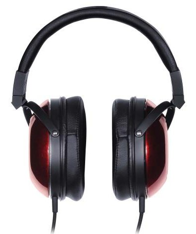 On-Ear Reference Headphones with Red and Black Finish